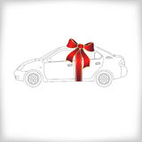 Gift car Royalty Free Stock Photography