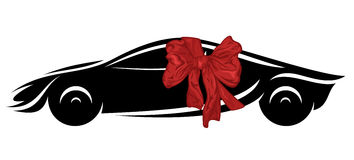 Gift car vector Stock Image