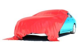 Gift car. Isolated on white background Stock Photos