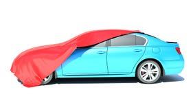 Gift car. Isolated on white background Stock Image