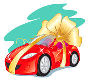 Gift car Stock Images