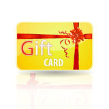 Gift card. A rendering of a generic gift card Stock Images