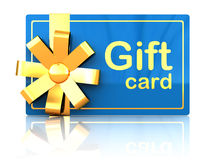 Gift card Royalty Free Stock Photo