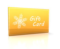 Gift card Stock Photo