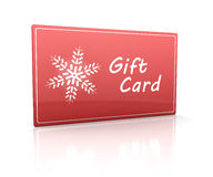 Gift card Royalty Free Stock Photography