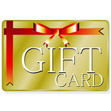 Gift card. A rendering of a generic gift card Stock Photo