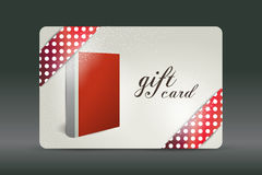 Gift card. Book design. Stock Images
