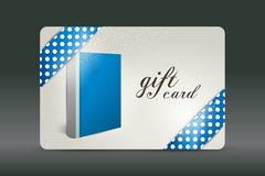 Gift card. Book design. Royalty Free Stock Photo