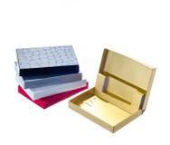 Gift card boxes Stock Photos