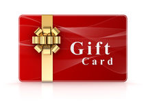 Gift card Stock Image