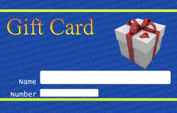 Gift card Stock Images