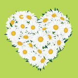 GIFT CARD WITH COPY SPACE AND FLOWER BOUQUET OF LOVE HEART SHAPE. Stock Images