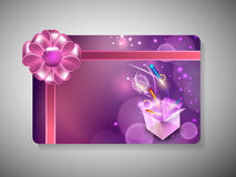 Gift card for Deepawali or Diwali Royalty Free Stock Image