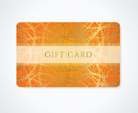 Gift card / Discount card / Business card abstract Royalty Free Stock Photos
