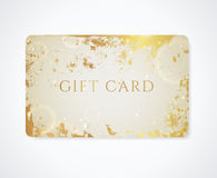 Gift card / Discount card / Business card. Grunge royalty free stock photo