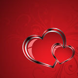 Gift card. Happy Valentine's Day Royalty Free Stock Photo