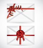 Gift Card illustration set Royalty Free Stock Photo