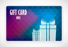 Gift Card. Illustration for your business Vector Illustration