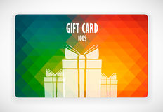 Gift Card. Illustration for your business Royalty Free Illustration