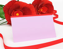 Gift Card Indicates Find Love And Affection Royalty Free Stock Images