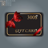 Gift card with realistic ribbon. Very high quality original trendy vector gift card with realistic ribbon can be used for gifts, presents, banners, sale, web Royalty Free Stock Photos