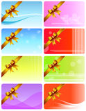 Gift Card Set Royalty Free Stock Photos