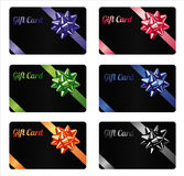 Gift card set Royalty Free Stock Images