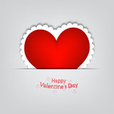 Gift card  Valentine s Day Royalty Free Stock Images