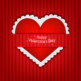 Gift card  Valentine s Day Stock Photography