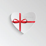 Gift card for Valentine's day Royalty Free Stock Images