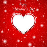 Gift card. Valentine's Day. Love Royalty Free Stock Photography