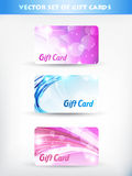 Gift cards Royalty Free Stock Photos