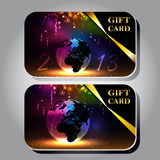 Gift cards Royalty Free Stock Photography