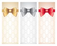Gift cards set Stock Photography