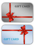 Gift cards templates Stock Image
