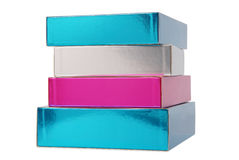Gift cartons Stock Photo