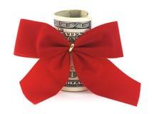 Gift Cash Stock Photo