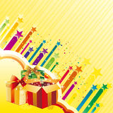 Gift and celebration Royalty Free Stock Photos