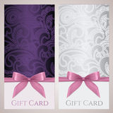 Gift certificate, gift card, Coupon template