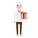 Gift chef Royalty Free Stock Photos