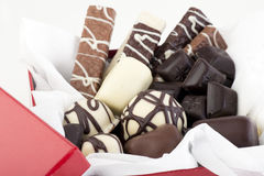 The Gift of Chocolate Royalty Free Stock Photography