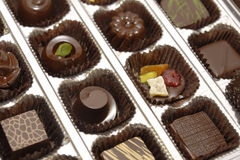 Gift chocolate Stock Photography