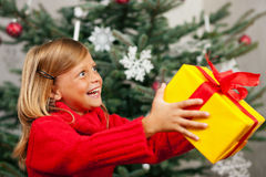 Gift for Christmas Royalty Free Stock Photo