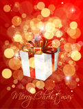 Gift Christmas Stock Images