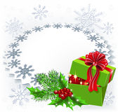 Gift Christmas box Royalty Free Stock Images