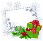 Gift Christmas box Stock Photo