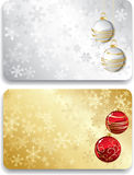 Gift Christmas card Royalty Free Stock Photos