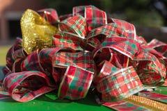 Gift, Christmas Decoration, Tartan, Tradition royalty free stock photos