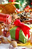 Gift for Christmas party Royalty Free Stock Photo