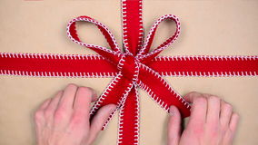 Gift chroma key stock footage